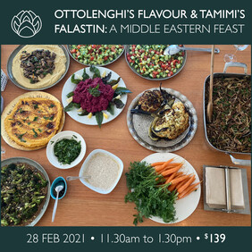 28 Feb | Ottolenghi's Flavour & Tamimi's Falastin: A Middle Eastern Feast SOLD OUT