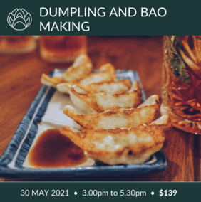 30 May | Dumplings and Baos with Chef AJ Takla