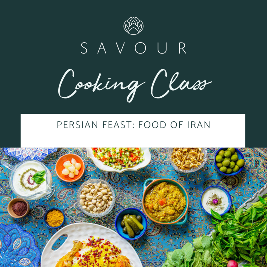 Persian Feast: Food of Iran - 21 March 2020